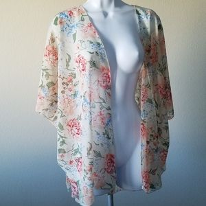 Lottie & Holly Floral Cardigan Medium